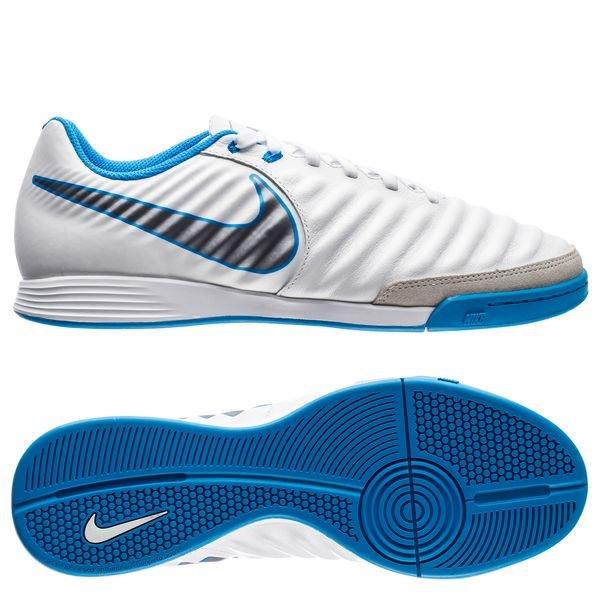 brand new b7fda 3d6d2 Nike Tiempo LegendX 7 Academy IC Just Do It - White/Blue ...
