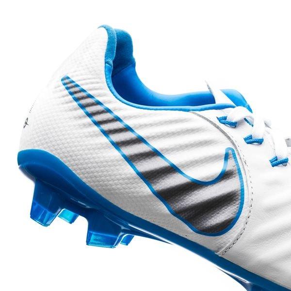Nike Tiempo Légende 7 Élite Fg Font Juste - Wit / Blauw dEc6j