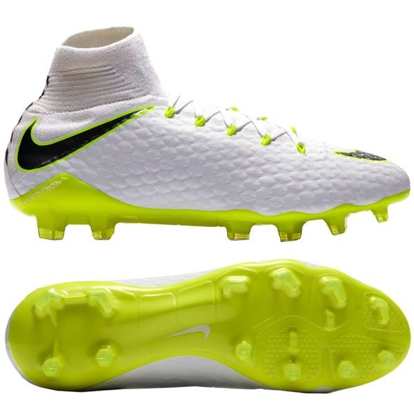 9332d36d3640 Nike Hypervenom Phantom 3 Pro DF FG Just Do It - White Volt