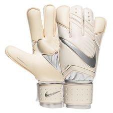 Image of   Nike Målmandshandske Grip 3 Just Do It - Hvid/Chrome