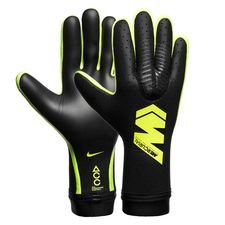 nike goalkeeper gloves mercurial touch elite just do it - black/volt - goalkeeper gloves