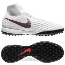 nike magista obrax 2 academy df tf just do it - white/lite crimson - football boots