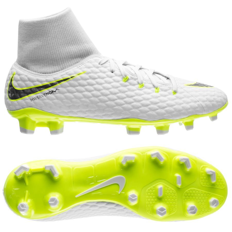 promo code 8d410 cdf43 nike hypervenom phantom 3 academy df fg just do it - white cool grey  ...