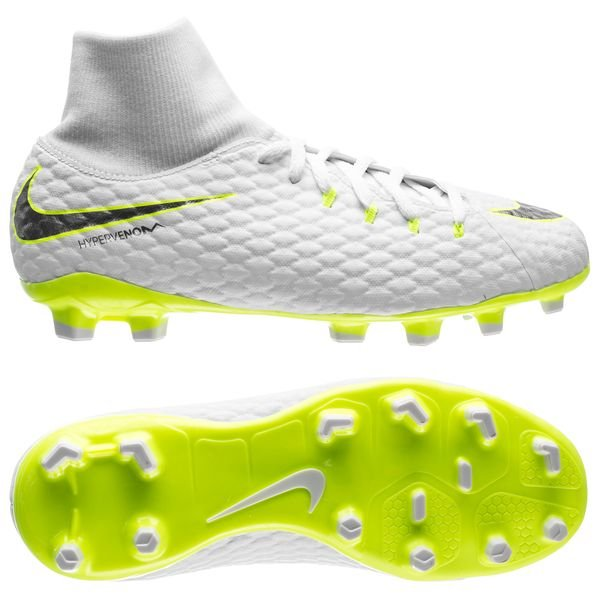 e76e79428d9 69.95 EUR. Price is incl. 19% VAT. -50%. Nike Hypervenom Phantom 3 Academy  DF FG Just Do It - White Volt Kids
