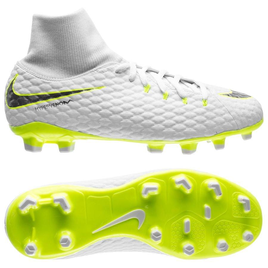 Nike Hypervenom Phantom Academy Hvid Græs (FG)