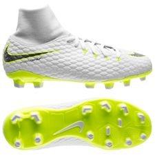 low priced da15f 5de06 Nike Hypervenom Phantom 3 Academy DF FG Just Do It - Vit Neon Barn