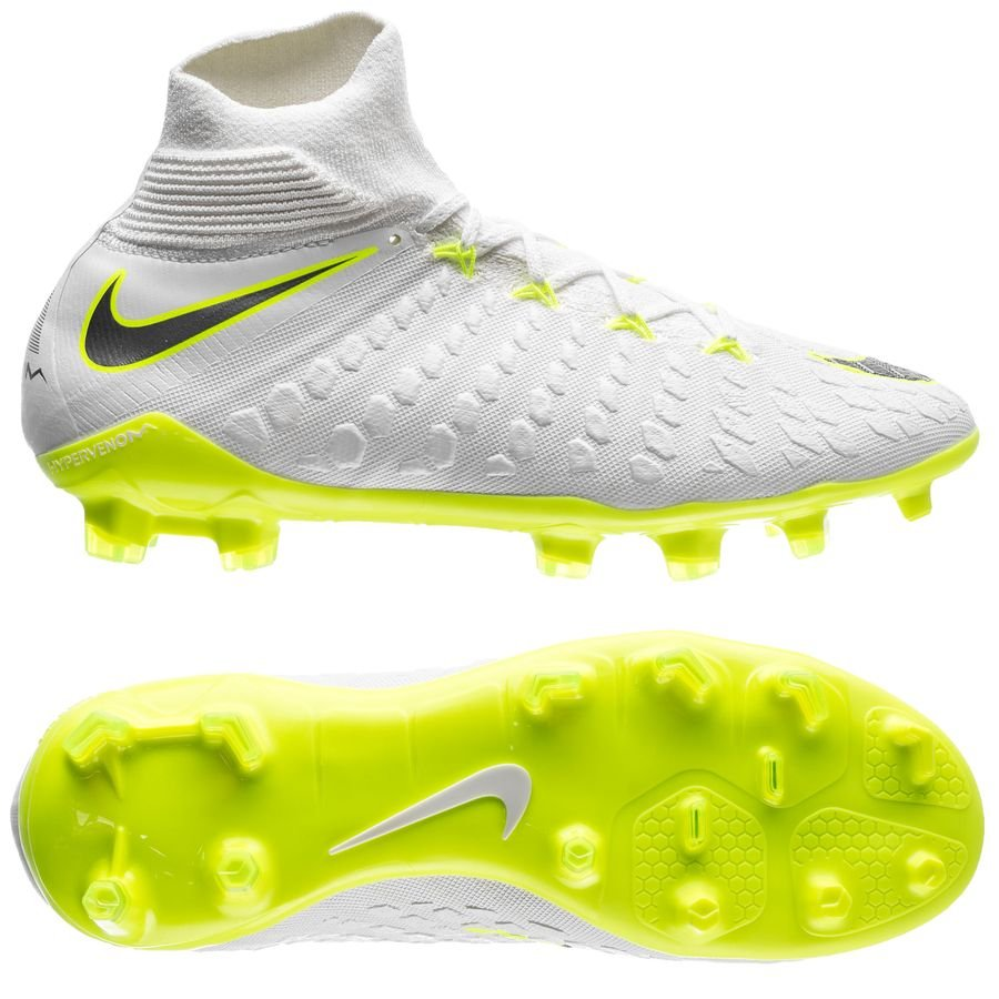 3892382b8e8 ... ireland nike hypervenom phantom 3 elite df fg just do it white volt kids  5678d 7af77