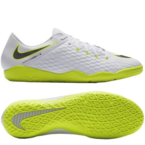 size 40 439e9 6b14a Nike Hypervenom PhantomX 3 Academy IC Just Do It - White ...