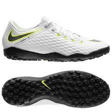 Nike Hypervenom PhantomX 3 Academy TF Just Do It - Wit/Neon