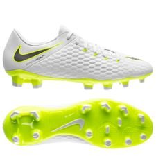 Nike Hypervenom Phantom 3 Academy FG Just Do It - Wit/Neon