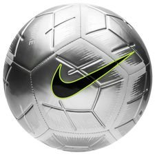 Image of   Nike Fodbold Strike Just Do It - Sølv/Sort