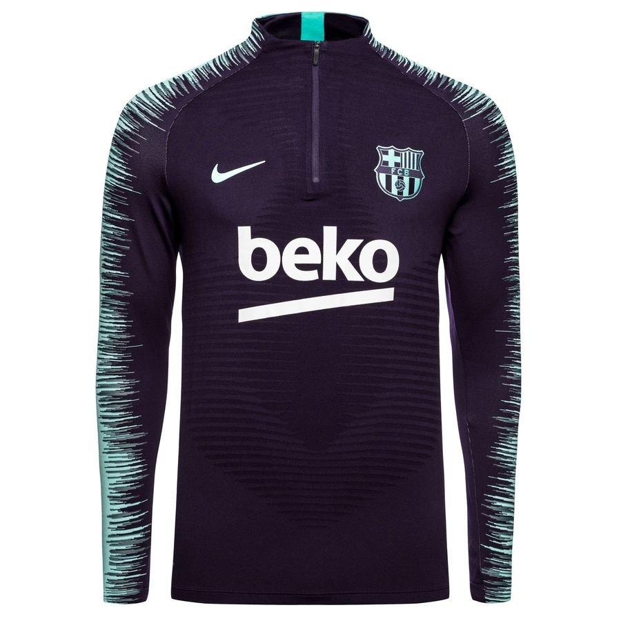 FC Barcelone Maillot d'Entraînement Strike 2.0 VaporKnit - Violet/Turquoise