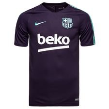 Image of   Barcelona Trænings T-Shirt Breathe Squad - Lilla/Turkis