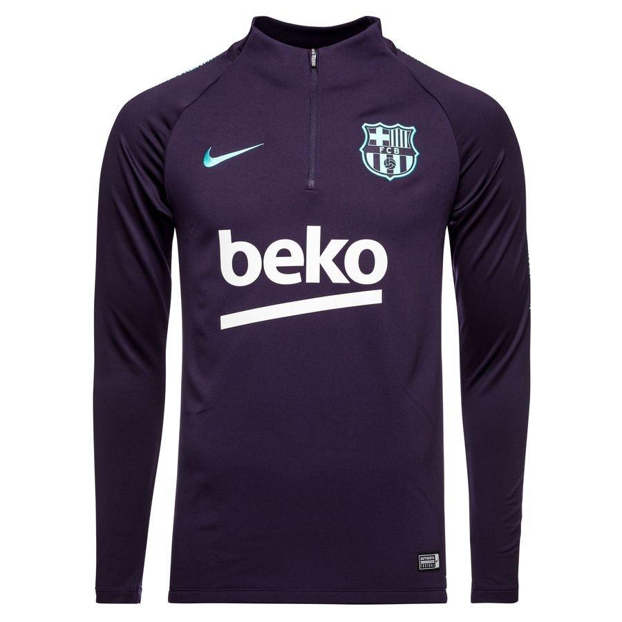 FC Barcelone Maillot d'Entraînement Dry Squad Drill - Violet/Turquoise