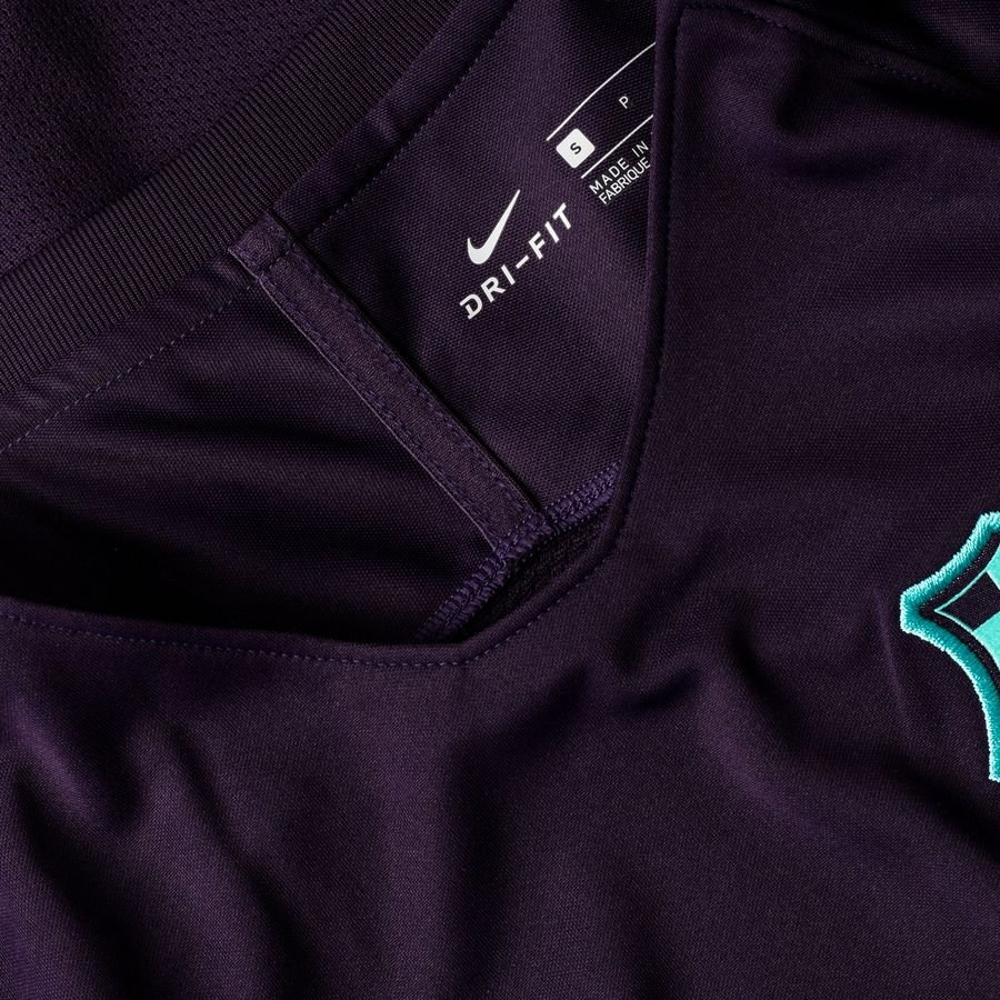 1e26e05b9bd Barcelona Training T-Shirt Breathe Squad - Purple Dynasty Hyper Turquoise  Kids