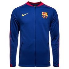Barcelona Trainingsjas Anthem - Navy/Goud Kinderen