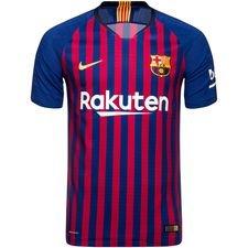 barcelona hjemmebanetrøje 2018/19 vapor børn - fodboldtrøjer