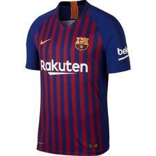 Barcelona Hjemmebanetrøje 2018/19 Vapor Børn