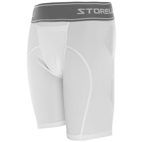 storelli baselayer sliders bodyshield abrasion - hvid børn - baselayer