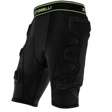 storelli goalkeeper sliders bodyshield - black - baselayer