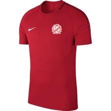 lejerbo bk - træningsshirt rød - fodboldtrøjer