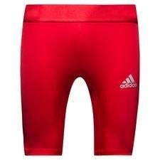 lyngby bk - baselayer tights rød - baselayer