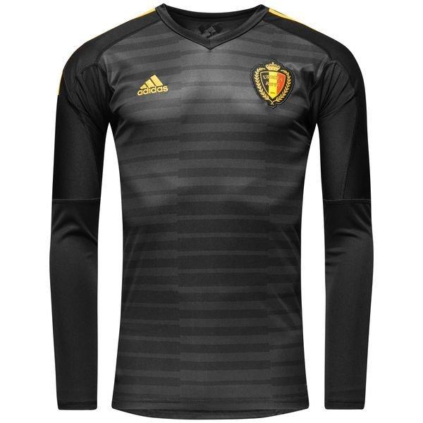 belgien målmandstrøje hjemmebane vm 2018 courtois 1 - fodboldtrøjer