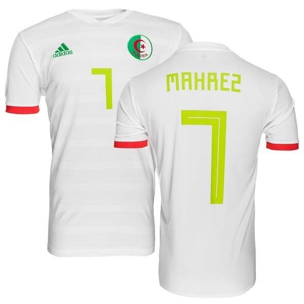 algeriet hjemmebanetrøje 2017/18 mahrez 7 - fodboldtrøjer