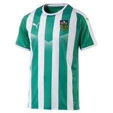 bispebjerg boldklub - hjemmebanetrøje grøn/hvid børn - fodboldtrøjer