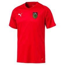 bispebjerg boldklub - udebanetrøje rød - fodboldtrøjer
