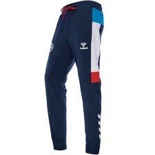denmark sweatpants - blue/white - training pants