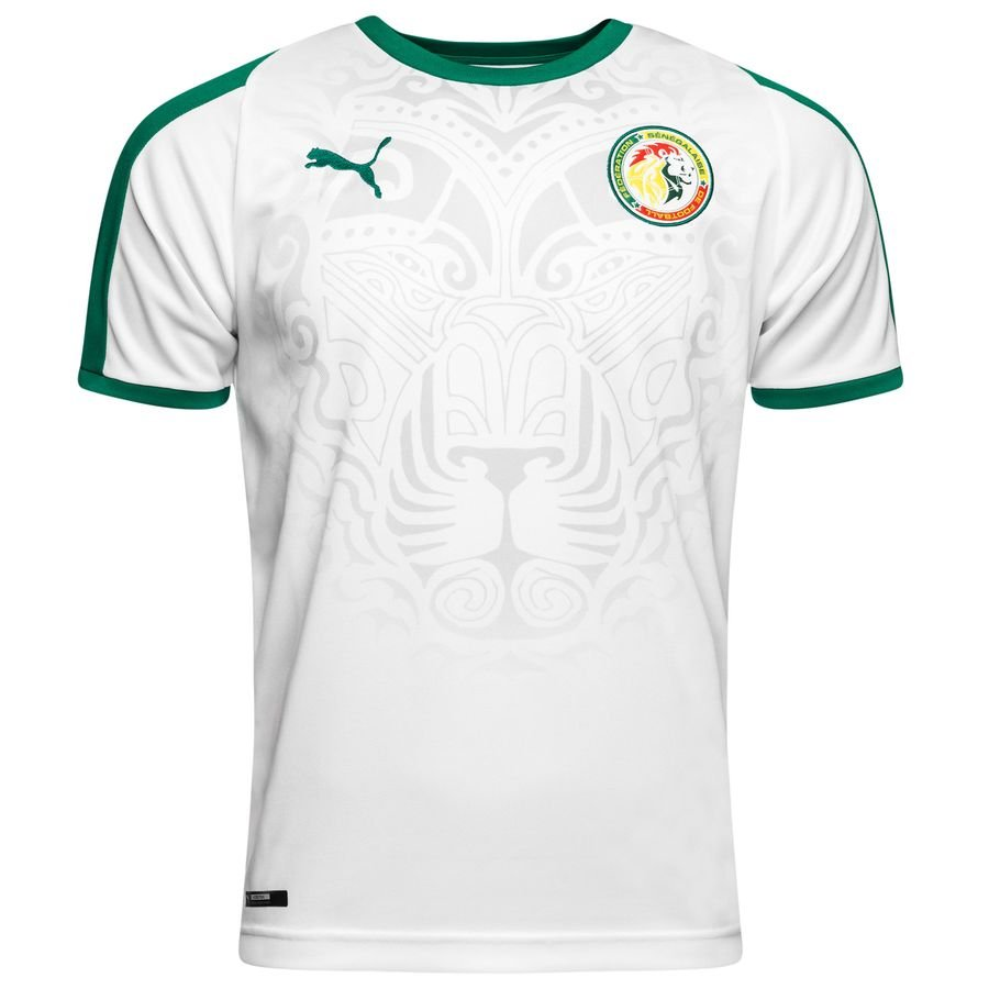 senegal home shirt world cup 2018 - football shirts ... f8f258ca6