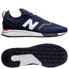 new balance classic 247 - blå/hvid - sneakers