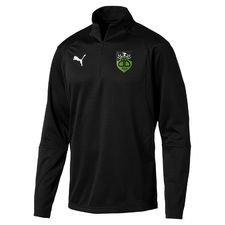 bispebjerg boldklub - træningstrøje sort - træningstrøjer