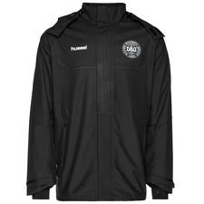 denmark all weather training jacket tech move - black - jackets