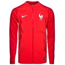 france training jacket strike anthem - university red/white - training jackets