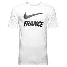 frankrig t-shirt dry pre season - hvid - t-shirts