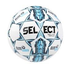 Select Fotboll Brillant Replica Eliteserien - Vit/Blå