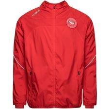 danmark træningsjakke reflector tech dbu - rød - træningsjakke