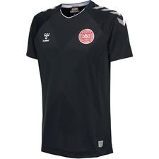 Danmark Målmandstrøje VM 2018 K/Æ Sort Pro Player Edition