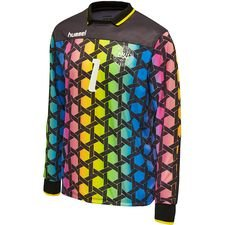 Hummel Retro Goalkeeper Shirt 92 - Blue/Yellow/Pink LIMITED EDITION