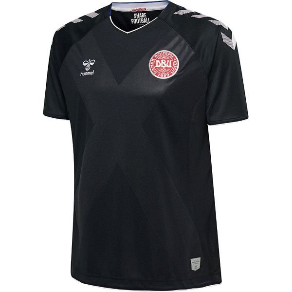 bd8ab3485 Denmark Goalkeeper Shirt 2018 19 Black