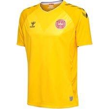 denmark goalkeeper shirt world cup 2018 s/s yellow - football shirts