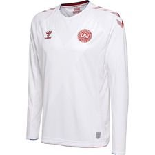 denmark away shirt world cup 2018 l/s kids - football shirts