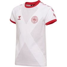 denmark t-shirt dbu away 11 - white - t-shirts
