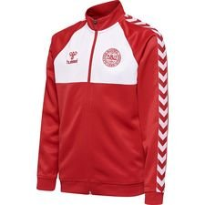 denmark track top - red/white kids - training tops