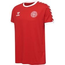 danmark t-shirt hjemmebane 10 - rød - t-shirts