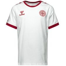 danmark t-shirt udebane 11 - hvid børn - t-shirts