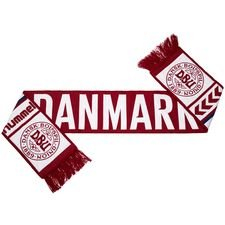 danmark halstørklæde - rød - merchandise