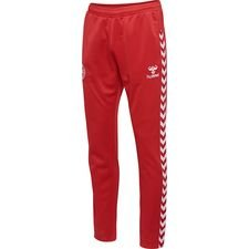 denmark pants - red - training pants